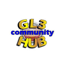 GL3 Community Hub Logo linking to website